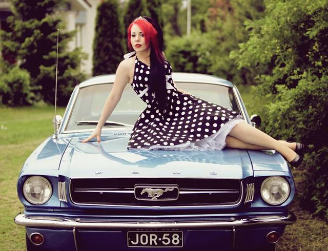 mustang pin up - photo #19