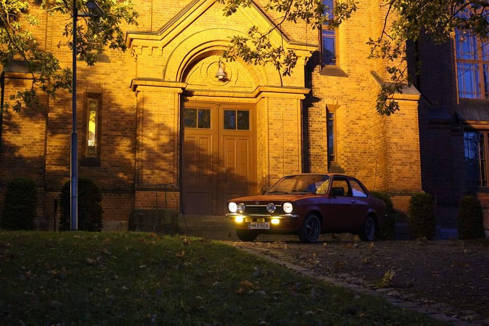 Opel Kadett C1 Festival Punainen 2