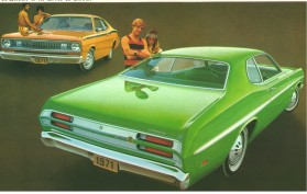 Plymouth Duster Retro Mainos