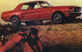 1967 Ford Mustang Hardtop Mainos