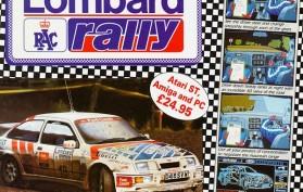 Lombard RAC Rally Mainos