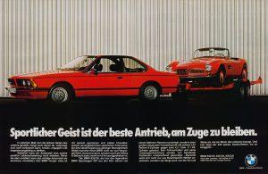 BMW E24 Mainos