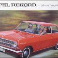 Opel Rekord A 1964 Mainos