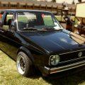 VW Caddy Musta Lava-auto