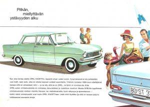 Opel Kadett A Retro Mainos