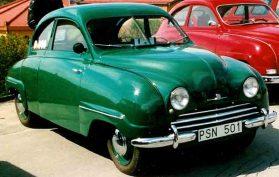 SAAB 92 De Luxe 1951