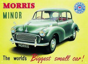 Morris Minor 1000 Mainos