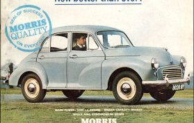 Morris Minor 1000 juliste