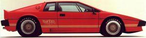 Ensimmäinen Esprit Turbo malli