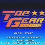 Top-Gear-Peli-SNES-Alku-Intro